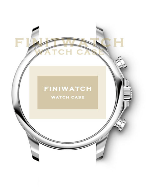 FINIWATCH 316L stainless steel watch case FC001 men watches case