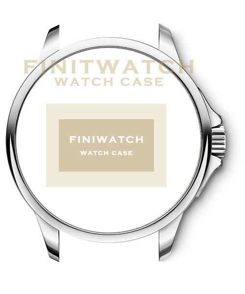 FINIWATCH 316L stainless steel watches case FC002 men watches case