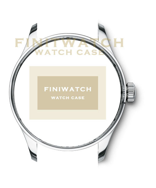 FINIWATCH 316L stainless steel watch case FC003 men watches case