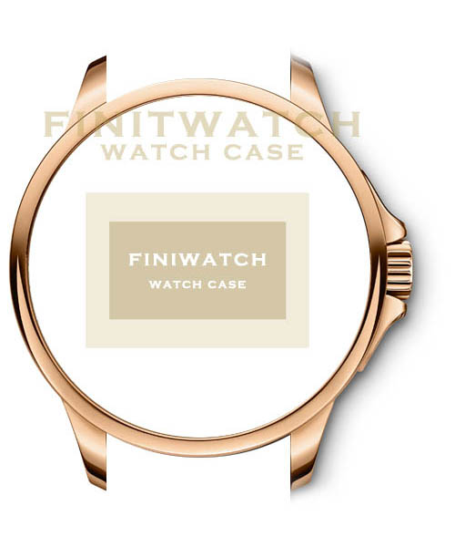FINIWATCH 316L stainless steel watch case FC005 men IPG watches case MANUFACTURER