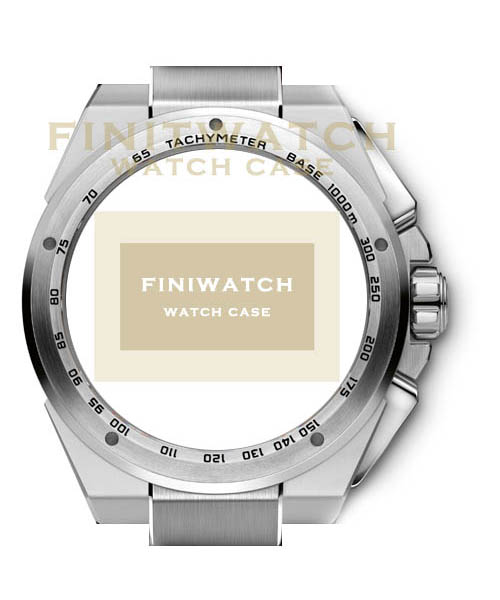 FINIWATCH 316L stainless steel watch case FC006 men CHRONOGRAPH watches case MANUFACTURER